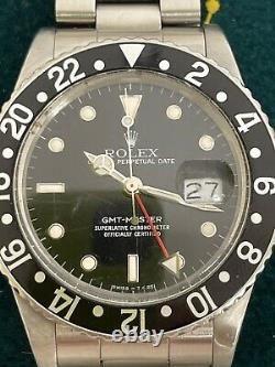 16750 1987 Rolex GMT Master With Pepsi Bezel Extra Included