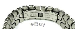 18kt & S/S EBEL Sportwave Meridian WorldTime GMT Automatic 40mm Steel Mens Watch