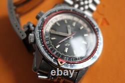 1969 Enicar Sherpa Guide 600 GMT Worldtime