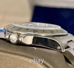 1999 Rolex Explorer II 16570 Black Dial Stainless Steel 40mm