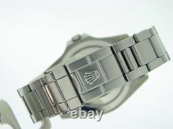 2000's Mens Rolex Stainless Steel Explorer II Watch 40mm SEL Oyster White 16570