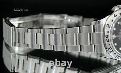 2009 Mint Men's Rolex Explorer II 16570 Stainless Steel Gmt Black Dial 40mm