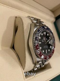 2020 Rolex GMT Master II Pepsi 126710BLRO