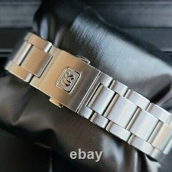 2021 Grand Seiko Cal9F GMT Steel Blue Dial Stainless SBGN005 Full Set Warranty