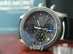 BREMONT Boeing BB247-TI-GMT/DG Automatic GMT Watch Warranty 07.2022