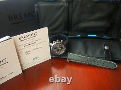 BREMONT Boeing BB247-TI-GMT/DG Automatic GMT Watch Warranty 09.2022
