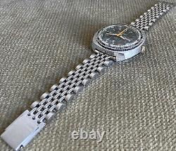 BULER GMT SEAWIND Worldtime Diver Automatic Wristwatch 44 mm ca. 1970