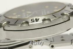 BVLGARI Diagono SD38S black Dial Automatic Men's Watch 571390