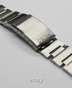 Bracelet With End Links Band Seiko Worldtime Navigator 6117-6400 6117-6409 GMT Pin