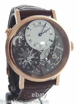 Breguet Tradition GMT Manual Wind 40mm 7067br Rose Gold Watch