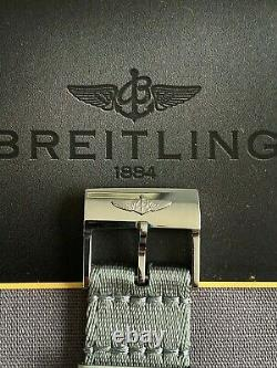 Breitling Aerospace E65062 Titanium Gold with Breitling Canvas Strap (Box+Cert)