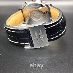Breitling Navitimer World 46mm A24322/B726 Complete Box & Papers Black Dial