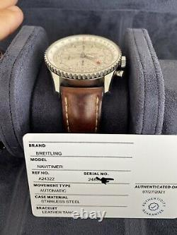Breitling Navitimer World GMT 46mm Chronograph A24322 Automatic