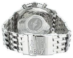 Breitling Navitimer world GMT Stainless Steel White Dial 47mm A24322 Full set