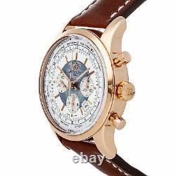 Breitling Transocean Chronograph Unitime Automatic Mens Watch RB0510U0/A733