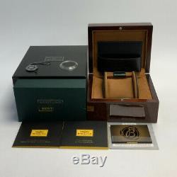 Breitling Transocean Chronograph Unitime Rose Gold Auto 46mm Mens RB0510U0/A733
