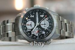 Bremont GMT Chronograph Steel Bracelet ALT1-Z withBox & papers! Rare! WOW! LOOK