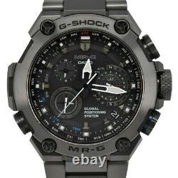CASIO G-SHOCK MR-G MRG-B1000B GPS hybrid Radio Solar Powered Men's Watch C#97417