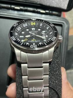CITIZEN BJ7110-54E Promaster Titanium World Time Diver (BJ711-89E) Watch