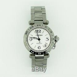 Cartier Pasha C GMT World Time Automatic Watch with Box