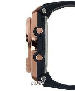 Casio BABY-G MSGS200G-1A G-MS Rose Gold Tough Solar Analog-Digital Ladies Watch