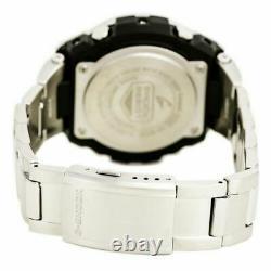Casio GSTS110D-1A G-Shock Men's Solar Powered Ana-Digi Black Dial Watch