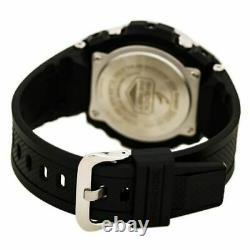 Casio GSTS110-1A Men's G-Shock World Time Ana-Digi Black Resin Strap Dive Watch