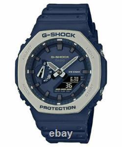 Casio G-Shock CasiOak Earth Tone Navy Blue GA2110ET-2A In hand ships now