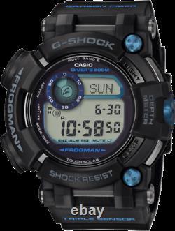 Casio G-Shock Frogman GWFD1000B-1 Multi-Band 6 Atomic Bluetooth Solar Power 2020