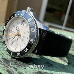 Christopher Ward C60 Trident Pro Mk2 GMT Automatic Dive Watch 38mm