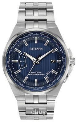 Citizen Eco-Drive Men's A-T World Time Blue Dial 42mm Watch CB0160-51L