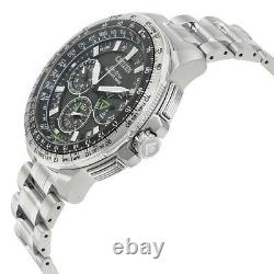 Citizen Men's $1395 Eco-drive Satellite Wave Watch, Gps, World Time Cc9030-51e