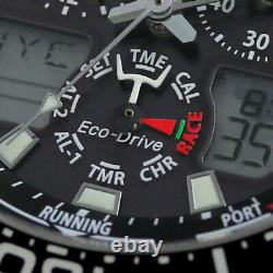 Citizen Promaster Marine JR4060-88E Eco-Drive Solar Chronograph Sport Men Watch