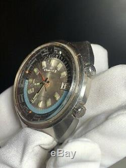 Citizen Worldtime GMT 68 0516 Everithing Authentic Never Restored