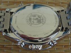 Citizen Wr100 Eco-drive Gmt Chrono Chronograph Deployment Bracelet Watch Box Set