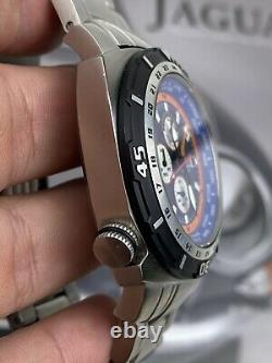 Deep Blue World Diver GMT 500 World Time Big Dive Watch Wetsuit 47mm Very Rare