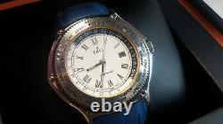 EBEL watch GMT Voyager World Time Automatic. Herren Armbanduhr