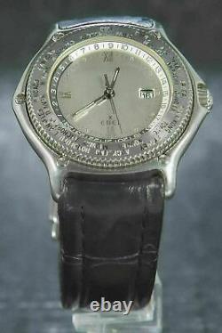 Ebel Voyager Vintage Automatic World Timer GMT 38mm Ref. 9124341