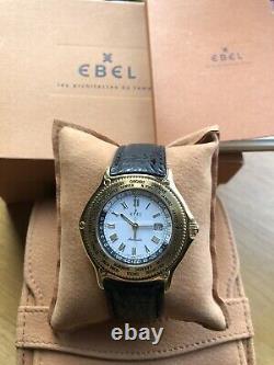 Ebel Voyager Worldtimer 18K Gold