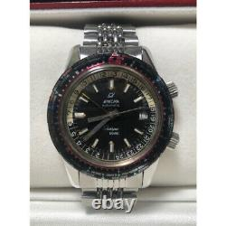 Enicar Sherpa Guide 2342 Automatic Cal 165 Black x Silber