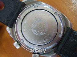 Extrem Rare Atlantic Travelmate Altissimo 24 Hr Dial Worldtime Gmt Alarm 4266