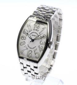 FRANCK MULLER Casablanca 5850 white Dial Automatic Men's Watch 552590