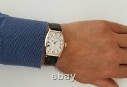 Franck Muller Curvex 18K Rose Gold Reference 5850 SC