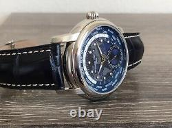 Frederique Constant FC-718NWM4H6 World Timer Swiss Automatic Watch