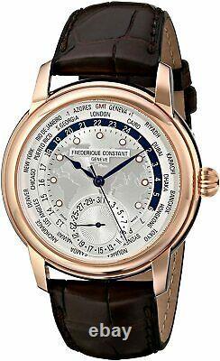 Frederique Constant Worldtimer Automatic, FC-718WM4H4, MSRP $4,395