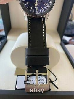 GLYCINE Airman 17 GMT Automatic Black Dial Men's Watch 3927.191. LB9B