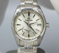 GRAND SEIKO SBGE205 Champagne Dial GMT 100% Complete with warranty