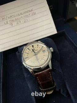 GRAND SEIKO SBGM221 GMT (Full kit)