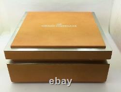 Girard Perregaux World Time Titanium Chronograph Automatic 4980 Watch Box Books