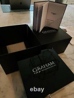 Graham Silverstone RS Endurance Chronograph GMT- AUTO 46MM. 2STDC. B08B. K1055